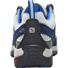 Salomon Ellipse 2 Aero Chaussures de randonnée Femme, titanium/deep blue/petunia blue